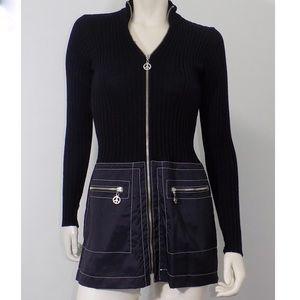 Moschino Jeans Vintage Mini Dress Black